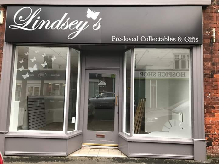 The new Lindsey's Pre-loved Collectibles and Gift Shop on George Street which will open in November.