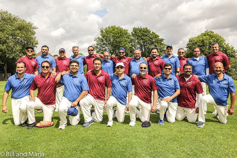 2 cricket teams